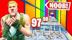 Der NEUE *100 LEVEL* NOOB Deathrun 😂 in Fortnite