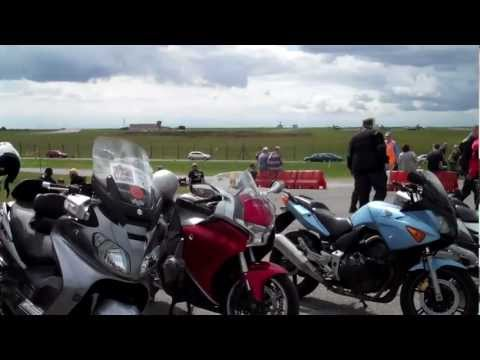 AFGHAN HEROES RIDE OUT FROM EBBS FLEET TO MANSTON KENT