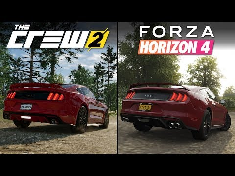 Forza Horizon 4 vs The Crew 2 | Direct Comparison thumbnail