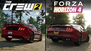Forza Horizon 4 vs The Crew 2 | Direct Comparison