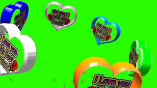 Happy Friendship Day Green Screen Effects - Happy Friendship Day speciel 3D Animated Video No 61