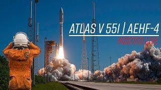 Watch the biggest, baddest Atlas V launch! ULA