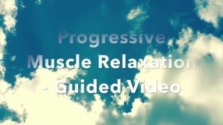 progressive muscle relaxation 20min guided meditation pmr for insomnia chronic pain and anxiety