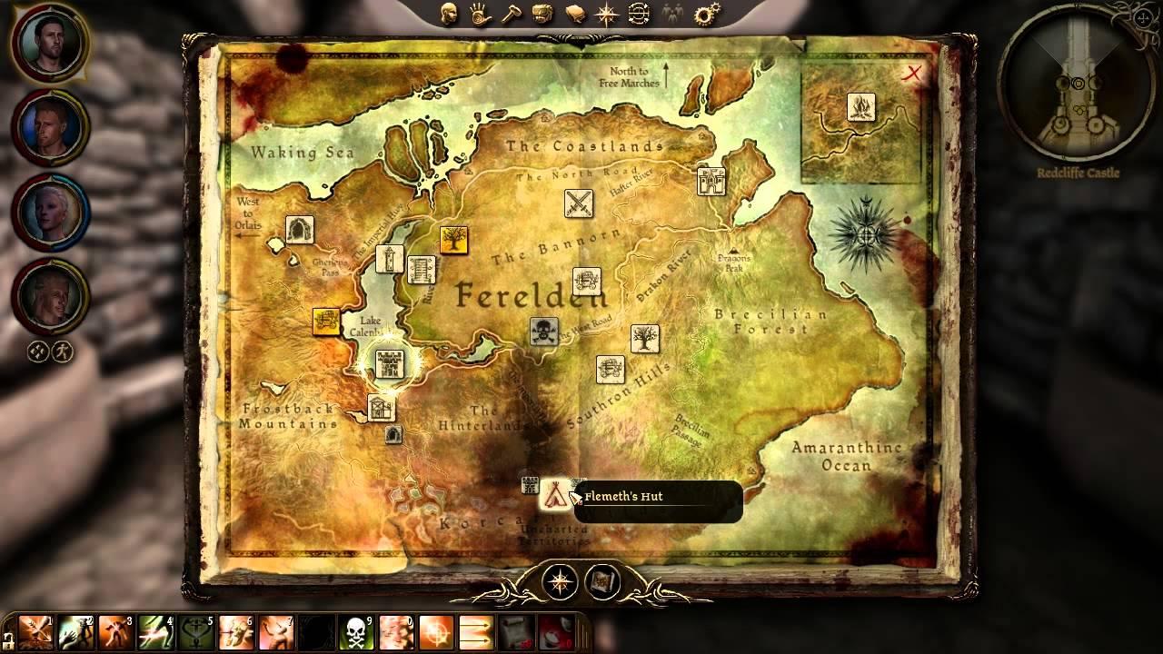 Dragon Age: Origins - Part 68 - First Stop, Caravan Down - YouTube on