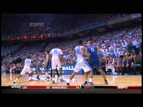 02/08/2012:  #9 Duke Blue Devils At #5 North Carolina Tar Heels