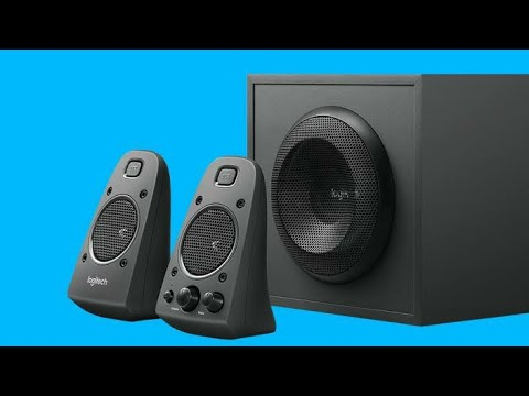 Logitech Z625 Speaker Unboxing & Review