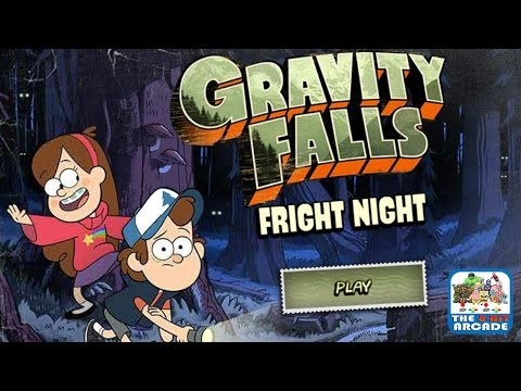 Gravity Falls: Fright Night - Find Oddities In The Scary Night (Gameplay, Playthrough)