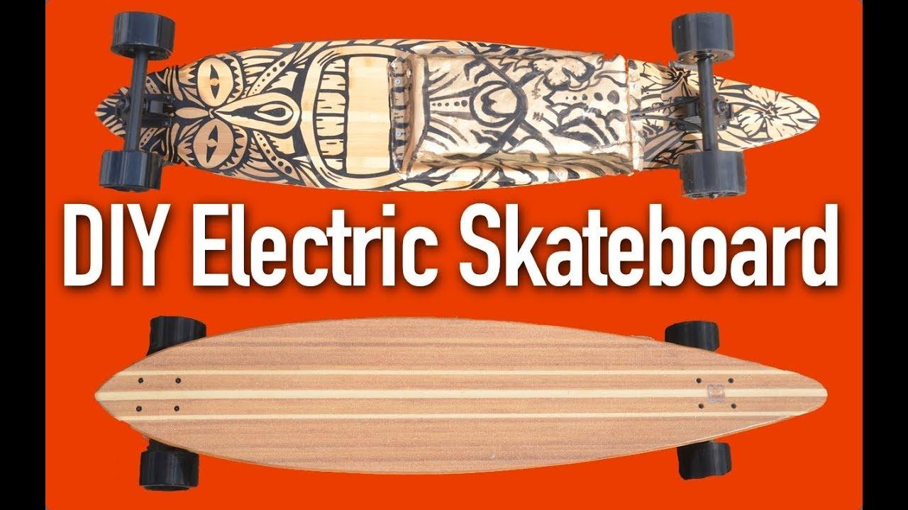 Build a DIY Electric Skateboard or Longboard - it s EASY! - YouTube 4572c3a7c26