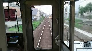 西鉄3000形特急福岡天神行き【井尻駅通過】