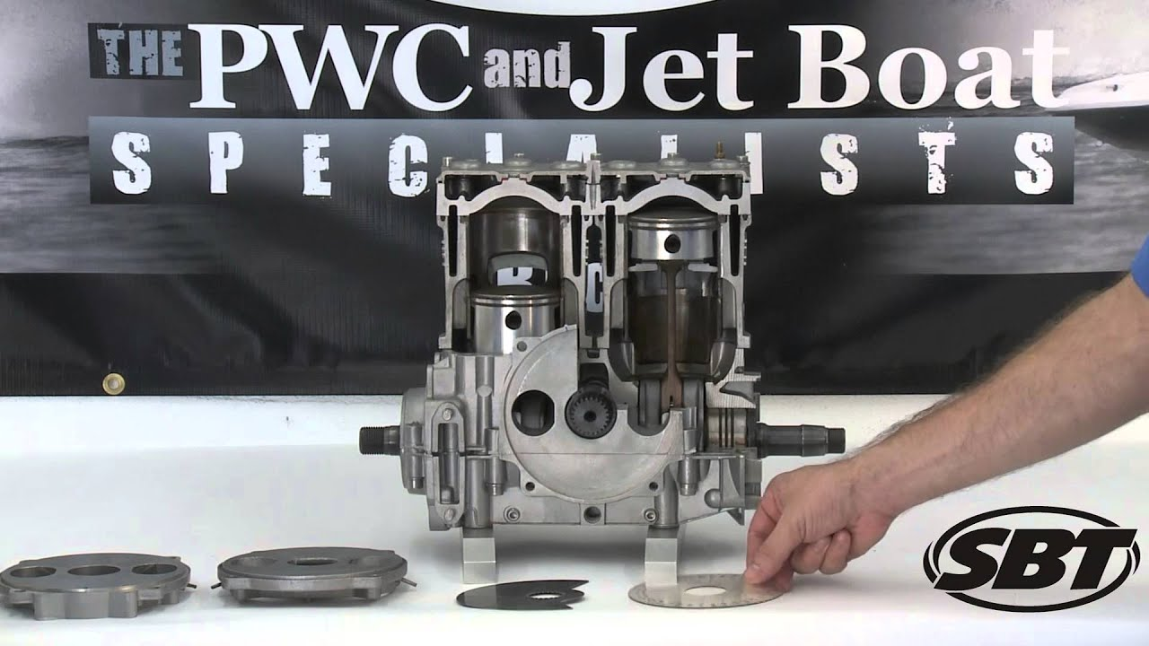 SBT Tech Tip: Rotary Valve Timing on a Sea-Doo