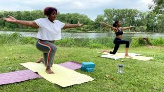 Practice Yoga with Princess Harris at Beaubien Woods!
