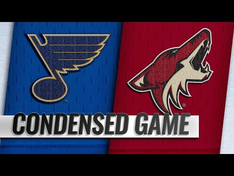 12/01/18 Condensed Game: Blues @ Coyotes