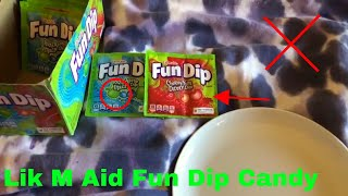 ✅  How To Use Lik M Aid Fun Dip Candy Review