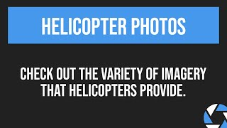 Helicopter Photo Packages