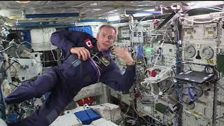 Expedition 58 Canadian Space Agency  Event Jan 31, 2019
