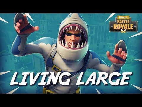Tilted Towers: Living Large!! - Fortnite Battle Royale Gameplay - Ninja