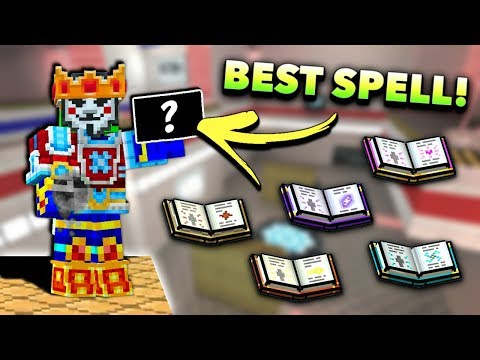 What's The BEST Spell In Pixel Gun 3D? (New Update)