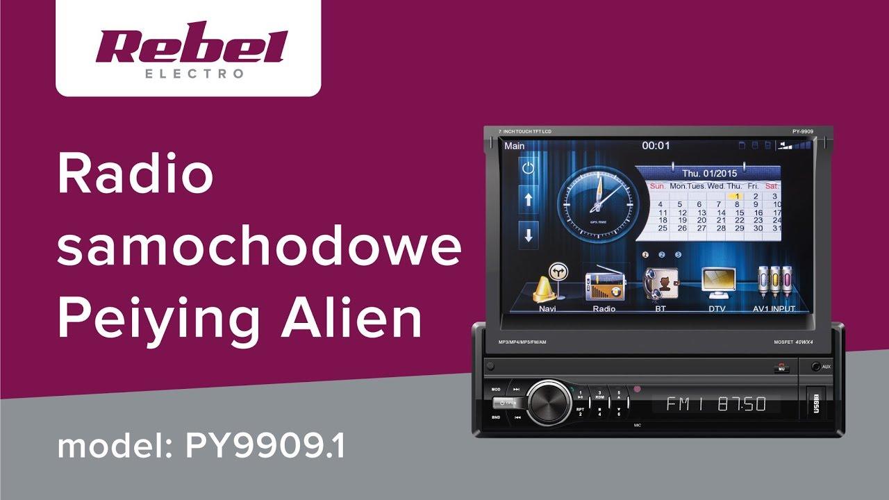 Radio samochodowe Peiying Alien PY9909 1   Lechpol