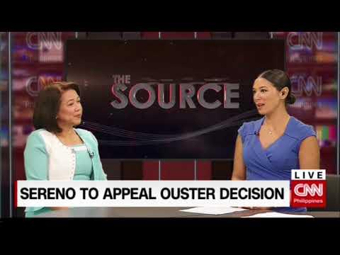 'The Source' speaks to Maria Lourdes Sereno