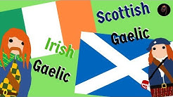 How to Tell Apart Scottish-Gaelic and Irish Gaelic