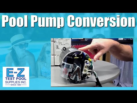how to convert an inground pool pump motor from 115v to 230v Leroy Somer Motor Wiring Diagram
