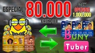 ESPECIAL 80.000 | PACK OPENING 1 MILLÓN CRUZADO Con Buny