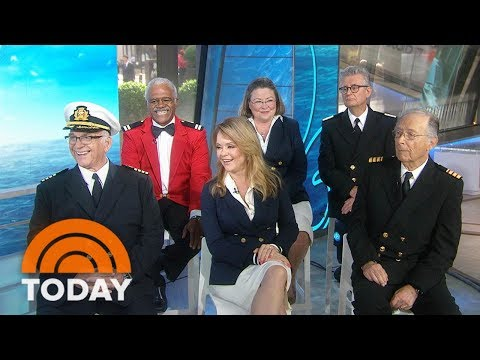 'The Love Boat' Cast Reunites And Gets A Big Surprise About Walk Of Fame Star  TODAY