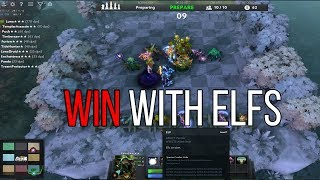 How to win Dota Auto Chess with ELVES