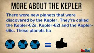 Official Presentation Kepler Spacecraft
