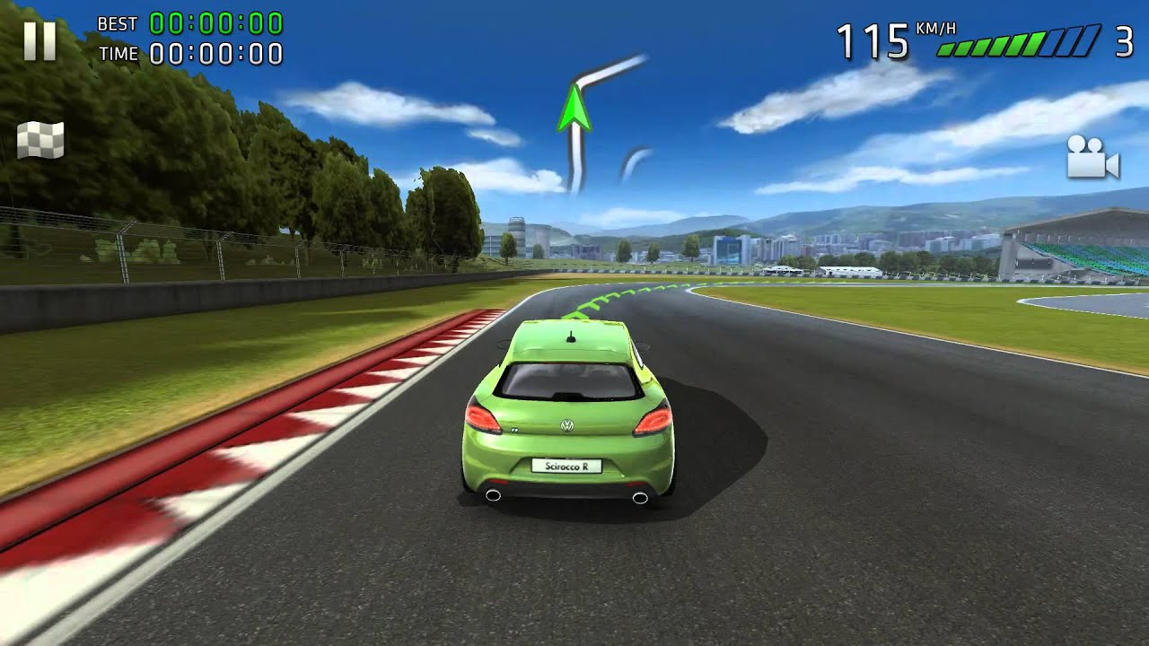 Gentil Sports Car Challenge 2 VW Scirocco R On Android