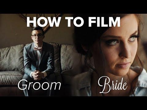 How To Film Bride & Groom Prep | BTS of Noah & Mal's Wedding Film (Part 2)