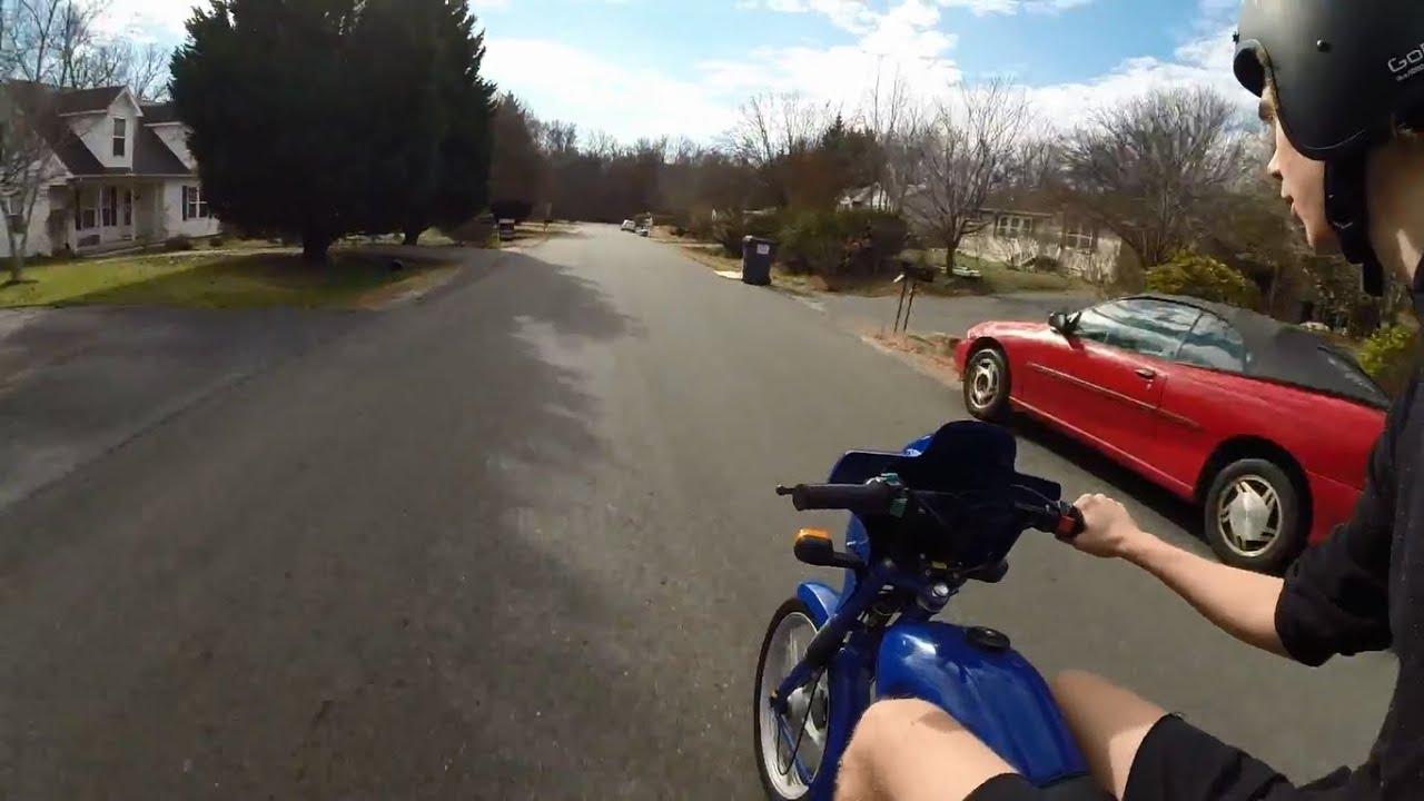 Tomos Targa Moped Speed Test