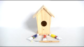 Design Your Own Birdhouse From Seedling