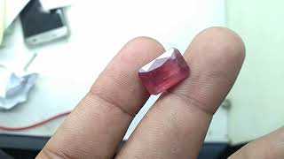 Ruby ID 24715 - Glass Filled - Tanpa gores