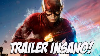 Nova temporada de flash, trailer INSANO