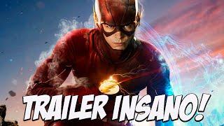 Nova temporada de flash, trailer INSANO
