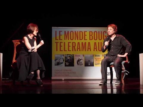 Avant la Croisette Mathieu Amalric était au théâtre du RondPoint pour répondre à nos questions