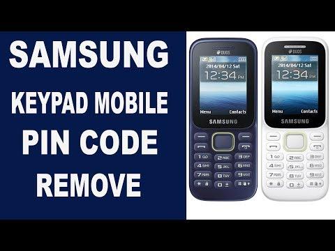 SAMSUNG KEYPAD MOBILE PIN CODE REMOVE thumbnail