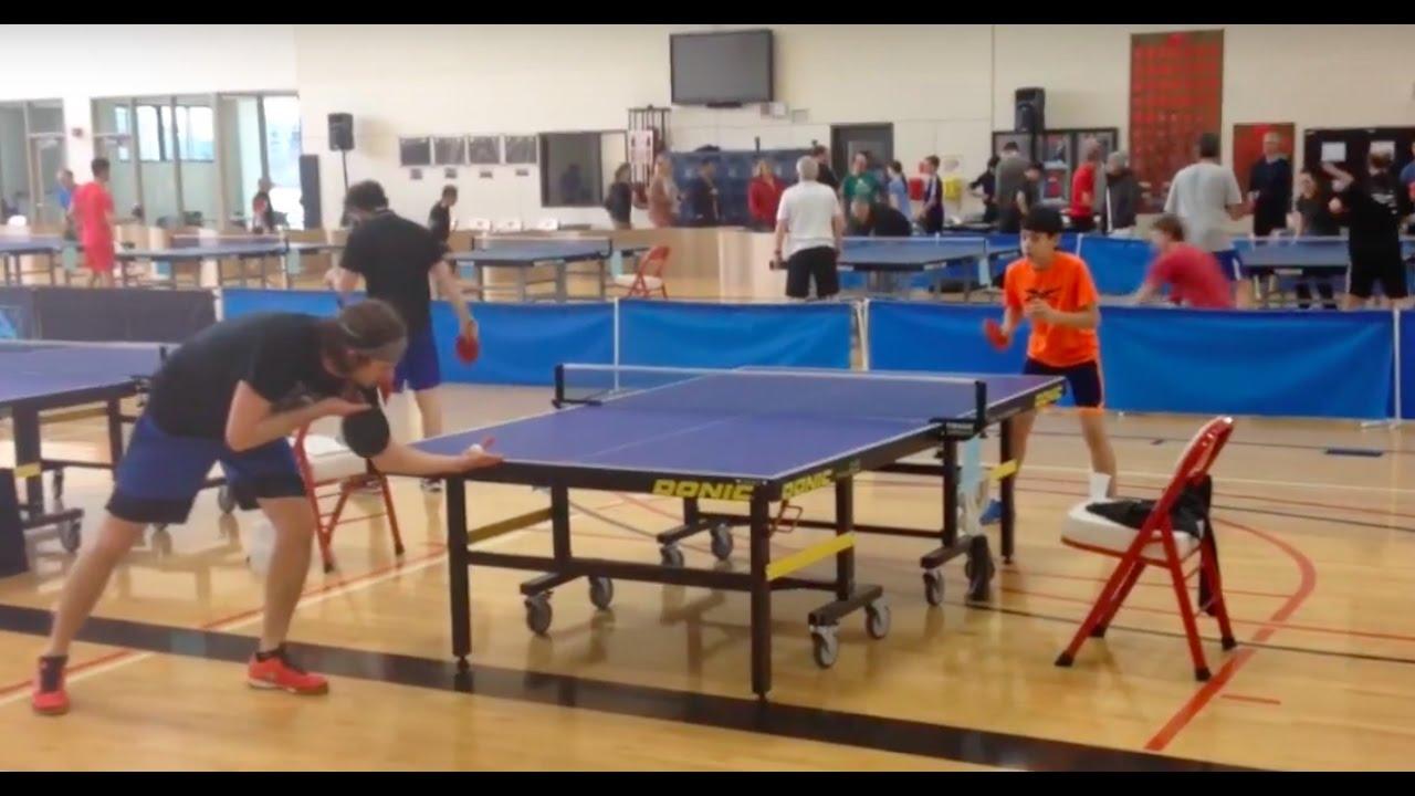 Mac Table Tennis Tournament In Portland Oregon By Jeff Mason