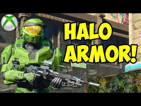 Fallout 4 - HALO ARMOR!! (Xbox One) (DOWN)