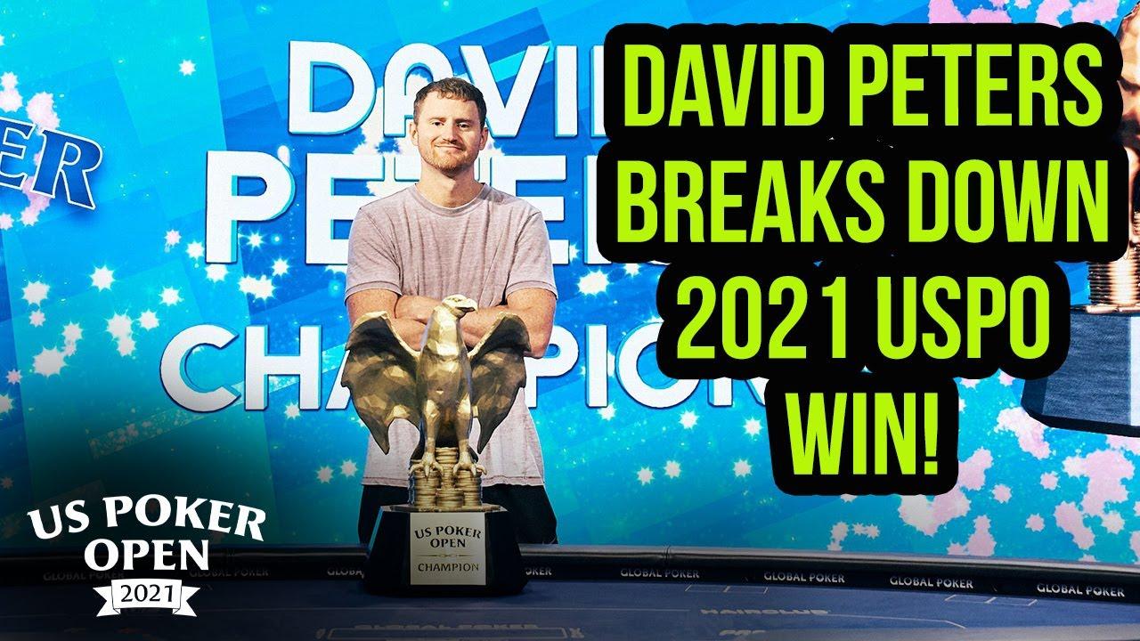 Run it Back with David Peters | U.S. Poker Open 2021 Breakdown