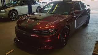 2018 Dodge Challenger Hellcat Custom Headlights