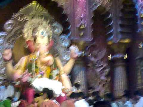 lalbagh cha raja mumbai,latest video on 29th aug 2009.. Travel Video