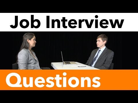 How to Answer Common Interview Questions—Tell Me About Yourself | Preparing for a Job Interview