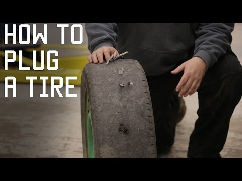 How to Plug a Tire | Tactical DIY tire plugs |  Vehicle Survival Repair Skills | Tactical Rifleman