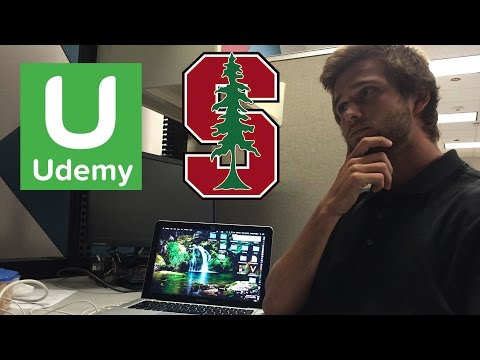 What iOS Course Should I Take? Stanford or Udemy? - iDev Journey #1