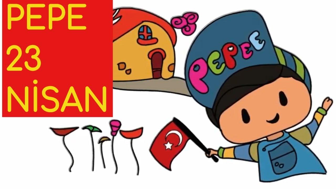 Pepe 23 Nisan Cizim Ve Boyama Sayfasi Nasil Yapilir Youtube