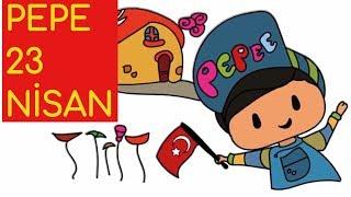 Pepe 23 Nisan Cizim Ve Boyama Sayfasi Nasil Yapilir Turkiye Vlip Lv