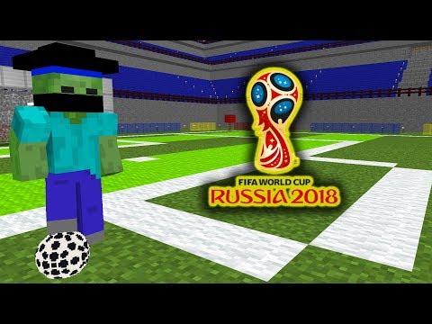 Monster School : FIFA WORLD CUP 2018 - Minecraft Animation