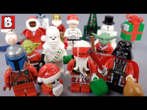 Every LEGO Star Wars Christmas Minifigure Ever!!! 2019 Update